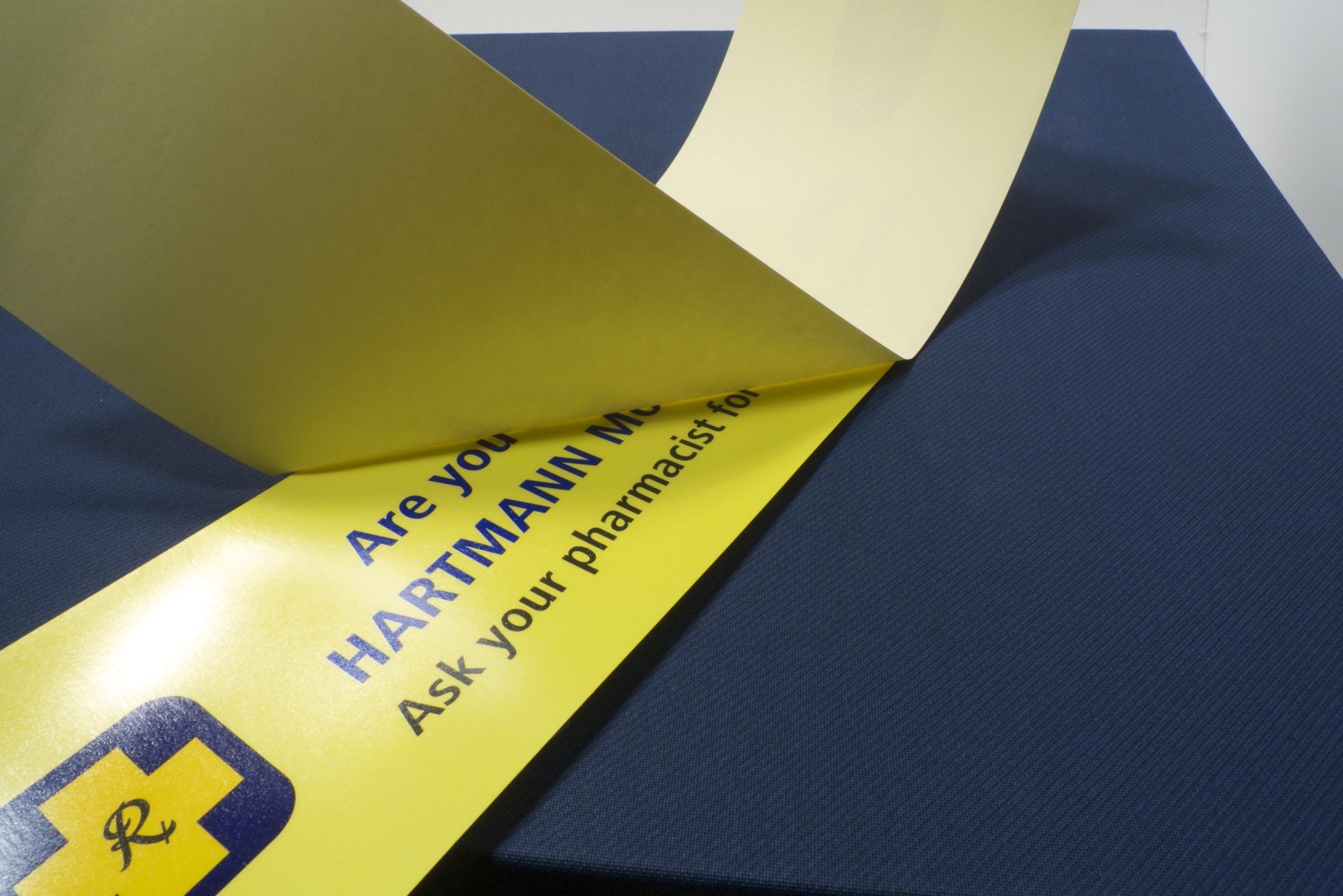 Custom reverse sticker printing austrsalia