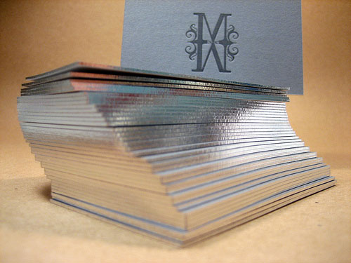Cheap business cards melbourne sydney perth brisbane adelaide foil stamping on edges business cards reheart Images