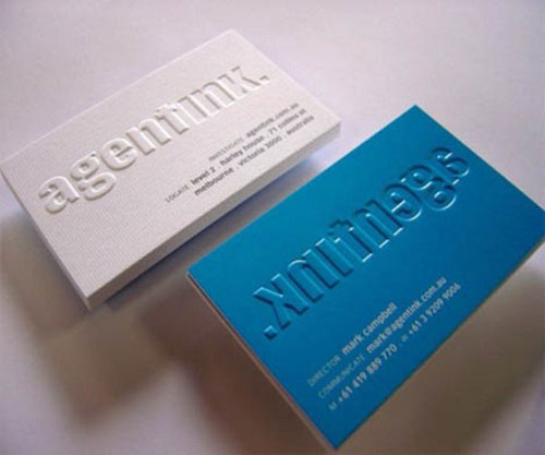 Cheap business cards melbourne sydney perth brisbane adelaide business cards debossing embossing debossing reheart Gallery