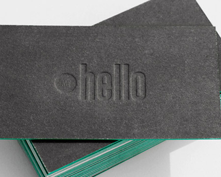 Letter Press Business Cards Australia