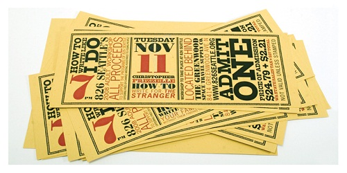 event tickets online stickers printing company australia beeprinting