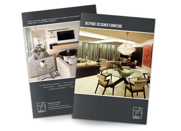Brochure Interior Design About Furniture ~ Catalogue printing sydney online cheap booklet