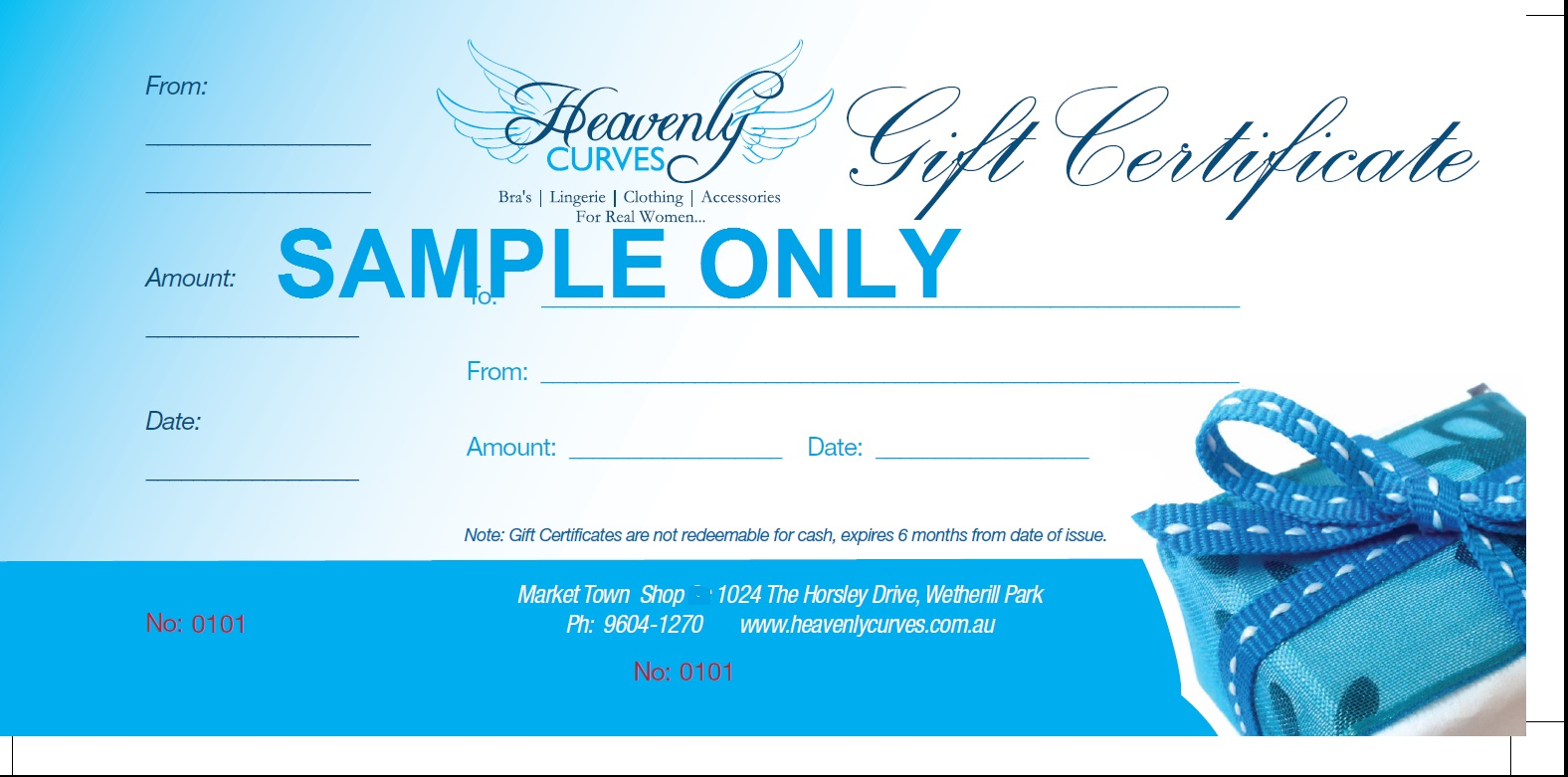 ... Gift Voucher Printing Australia ...  Print Your Own Voucher