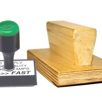 Rubber Stamps Printing
