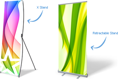 Indoor Banner Stand Pull Up Banners Melbourne Bee Printing - Vinyl banners stands