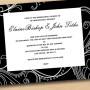 Black & White Invitation Cards Australia