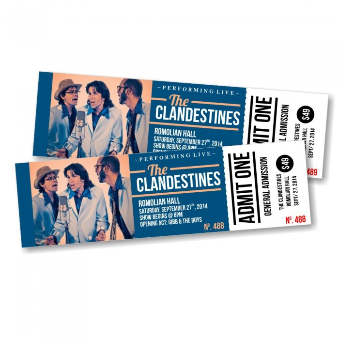 Event Tickets Sydney | Ticket Printing Melbourne, Perth - BeePrinting