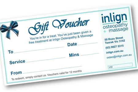 Gift Voucher Printing Australia