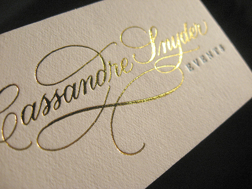 Foil stamping gold foil printing brisbane beeprinting australia business card foil stamping australia reheart Images