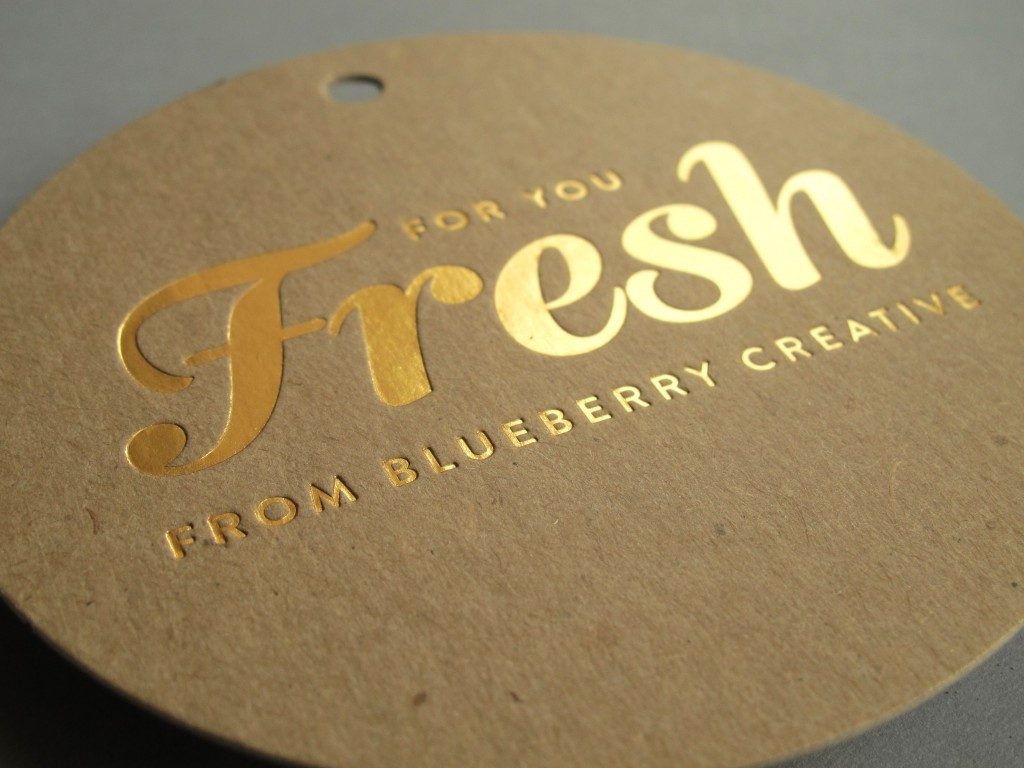Fresh Foil Stamping | Gold Foil Printing Brisbane - BeePrinting Australia DO06