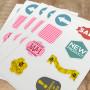 Die Cut Sheet Labels Printing Australia