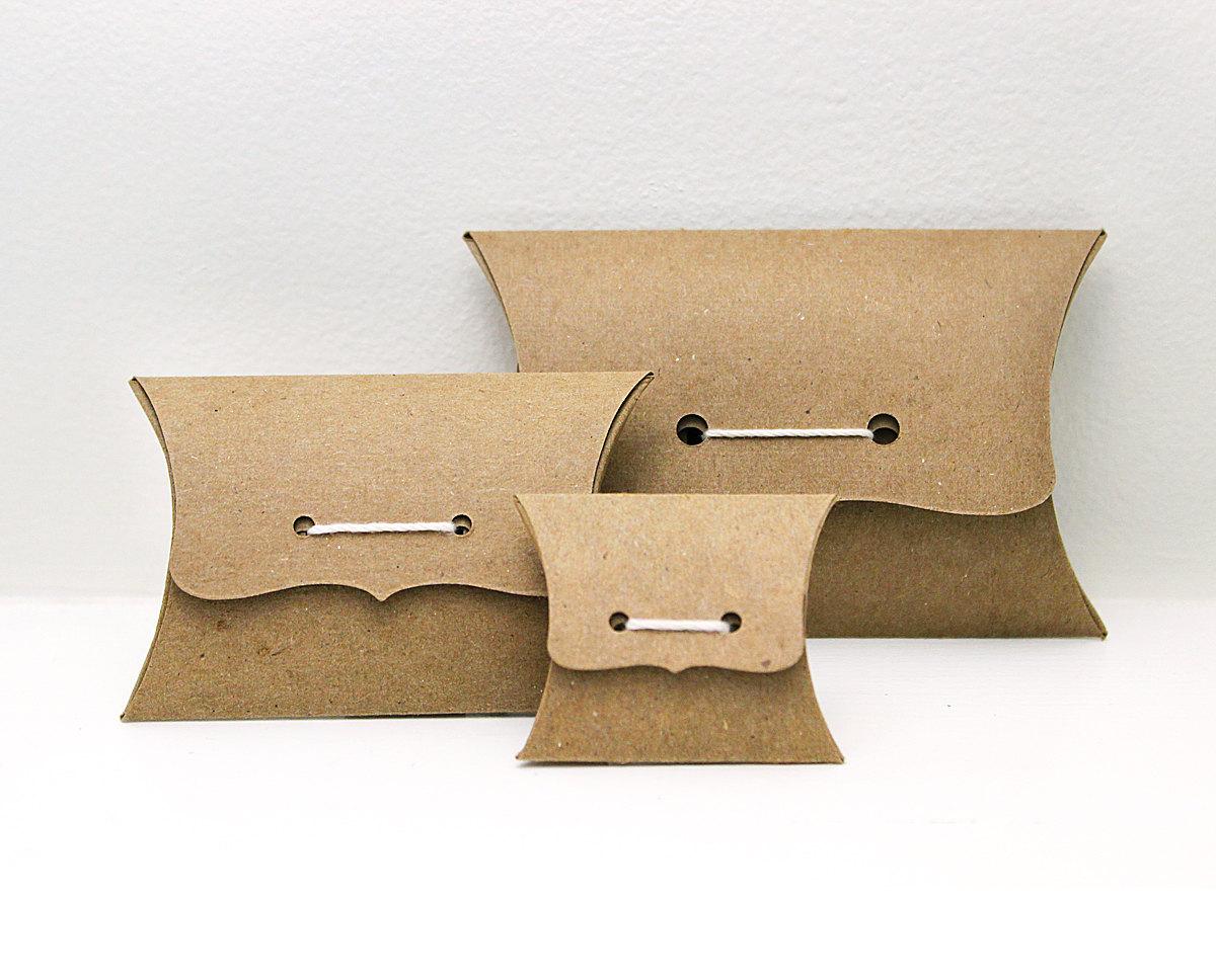 ... Custom Kraft Pillow Boxes Australia ...