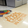 Floor Static Cling Printing Australia